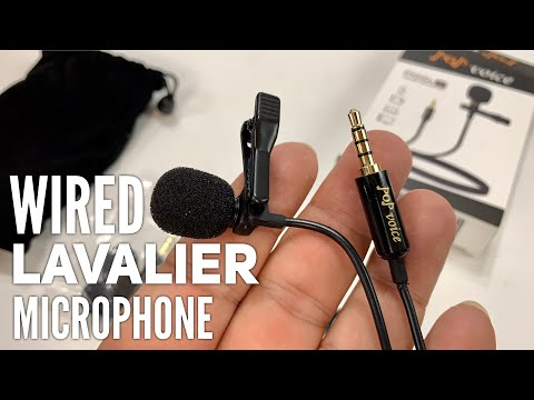 Wired Lavalier Lapel Microphone for IPhone by PoP Voice Review