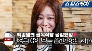 백종원의 골목식당 공감요정♡ 조보아의 모든 순간 모음 2편!! 《모았캐치 / 스브스캐치》