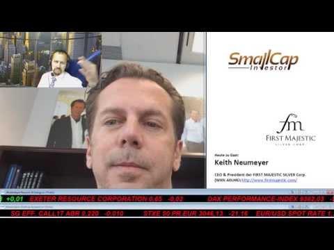 Smallcap-Investor Talk 270 mit Keith Neumeyer von First Majestic Silver Corp.