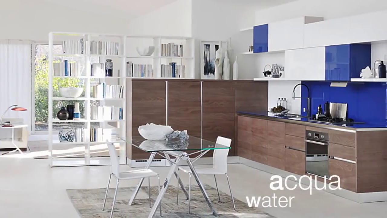 Cucina moderna Lube modello Brava. - YouTube
