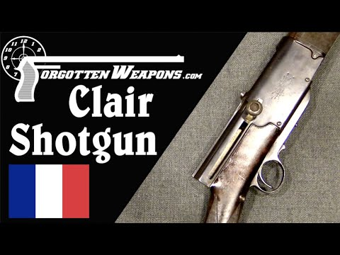 Clair Brothers Semiauto Shotgun from the 1890s