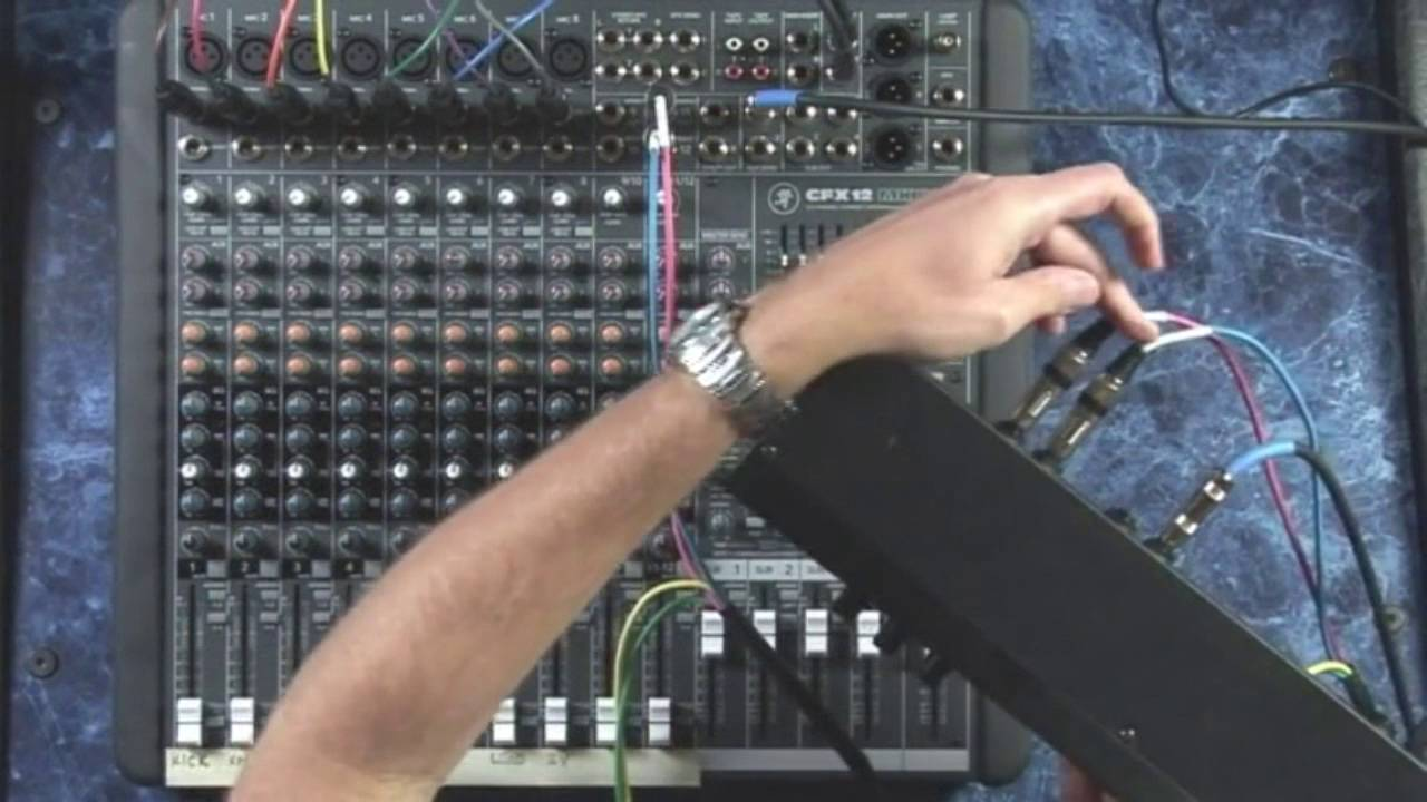 Using Aux Sends In Analog And Digital Mixers For Effects Loops Youtube 6 Input Mixer