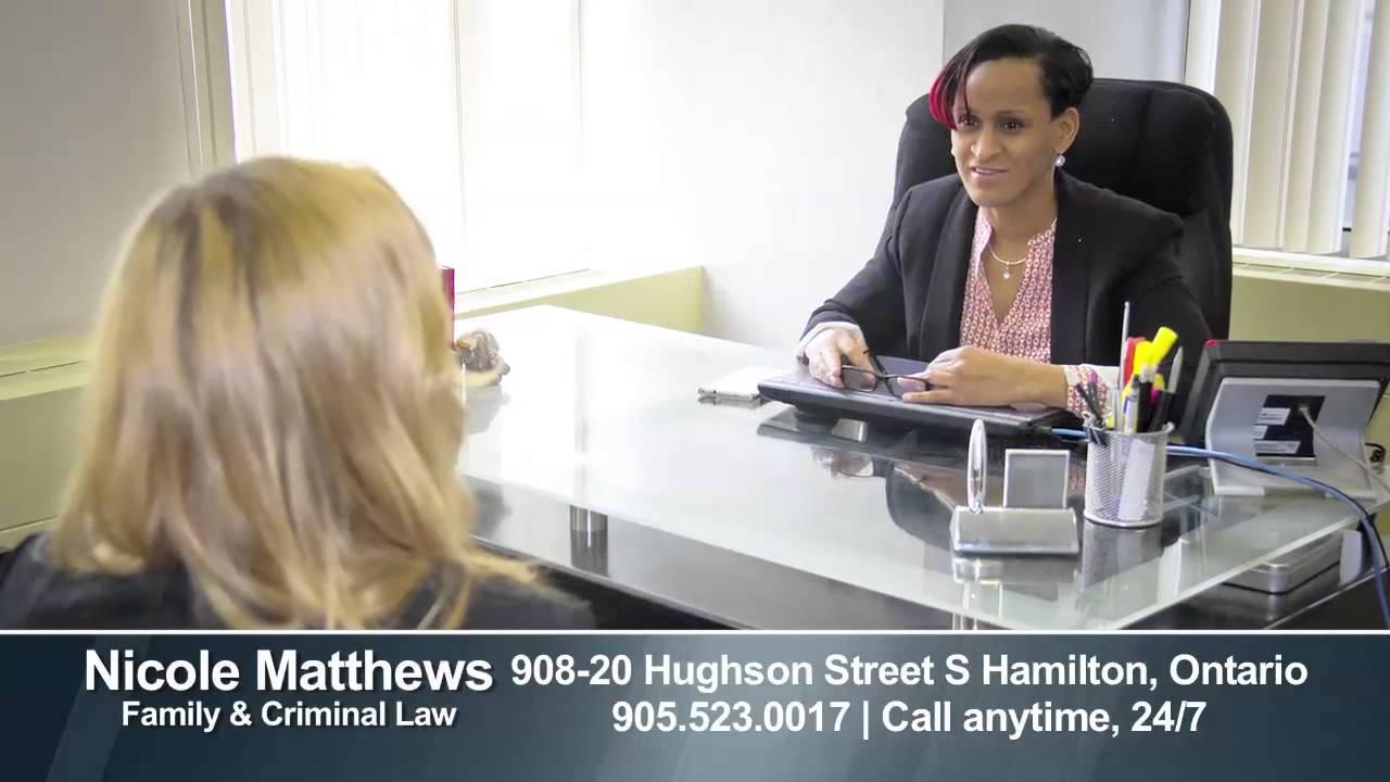 Nicole Matthews Family & Criminal Lawyer - YouTube