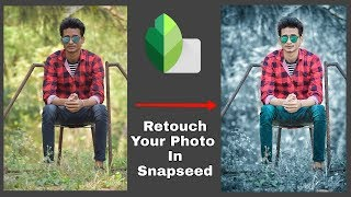 Gambar cover Snapseed Photo Retouch Editing Tutorial | Professional Photo Retouch in Snapseed |SK EDITZ| Snapseed
