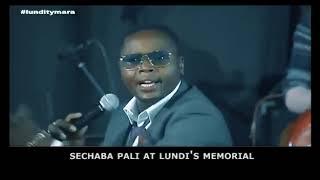 Sechaba at Lundi's Funeral
