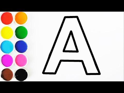 aprende-letras-y-colores-en-español---videos-para-niños---learn-colors-/-funkeep