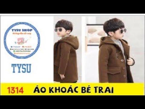 Hướng Dẫn Cắt May TysuShop Số 1314: áo Khoác Bé Trai
