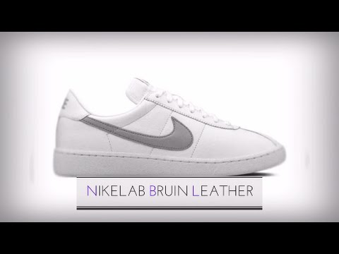 NIKE LAB BRUIN LEATHER/ SNEAKERS T