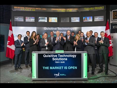 Quisitive Toronto Stock Exchange (TSX) Bellringing | Our Journey.