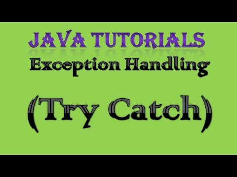 10.2 Exception Handling In Java Practical Part 1 Try Catch