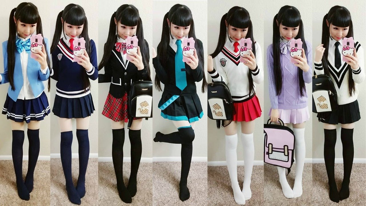 Anime School Uniform