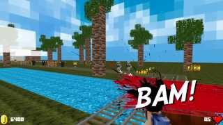 MineCart Survival - 3D Minecraft Mod Video for Steam