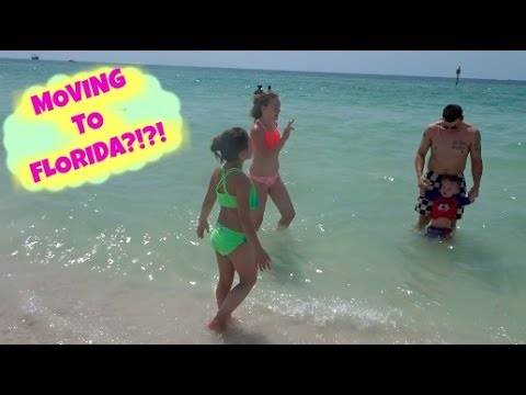 MOVING TO FLORIDA!?!? | BEACH DAY IN CLEARWATER | DISNEY WORLD VACATION VLOGS