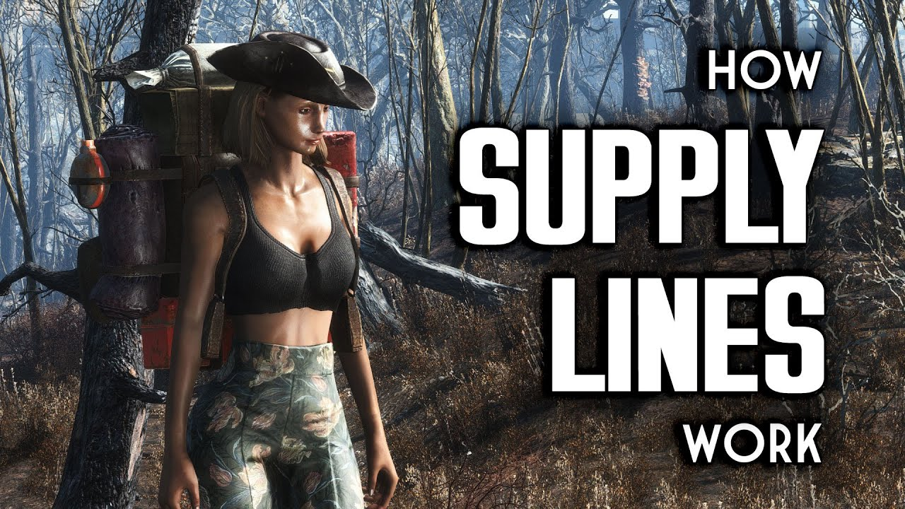 How Supply Lines Work - Fallout 4 Provisioners & Settlements
