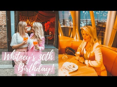whitney's-30th-bday!-|-vlog-|-surprise-fail,-business-barbie-&-a-range-rover?!