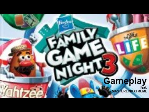 Hasbro Family Game Night 3 Wii Gameplay Feat MASTERLINKXTREME
