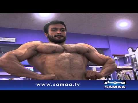 Pakistani Body Builder - News package - 18 Nov 2015
