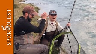 King Salmon Fishing in Argentina - A Very Happy Customer!