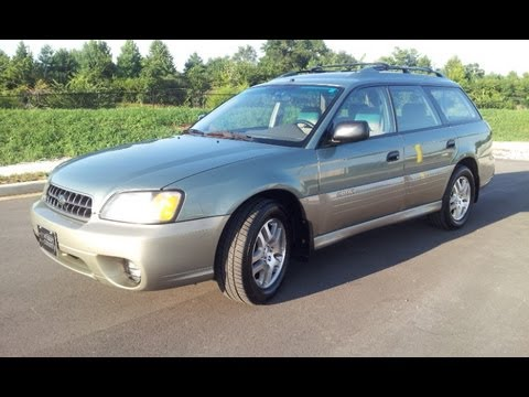 Sold 2003 Subaru Outback Wagon Awd 25 4cyl At Wilson County Motors