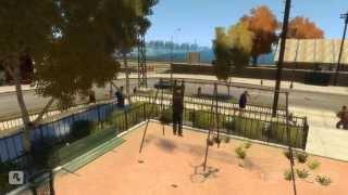 GTA 4 - Аварии, трюки и падения (Stunts and Crashes) #4
