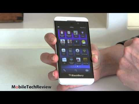 BlackBerry Z10 on Verizon Wireless Review