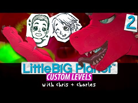 Little Big Planet Custom Levels ►Getting Pooped Out [02] │ THE INTERNET TOUGH GUYS