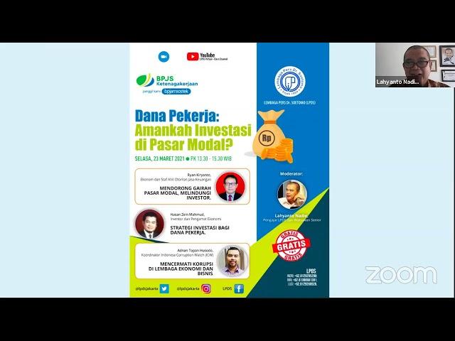 LPDS Virtual Workshop_Dana Pekerja: Amankah Investasi di Pasar Modal?