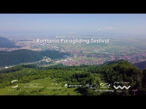 Romania Paragliding Testival - 2017 Prima editie - Bunloc Brasov