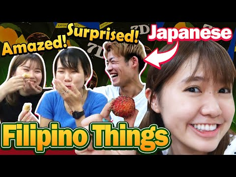 """No Way or Amazing! Japanese Friends try """"Real Filipino"""" Things