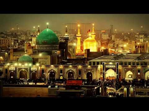 Aga Mehdi Qaibi  -  Imam Rza  agaya aid gozel (qezel )