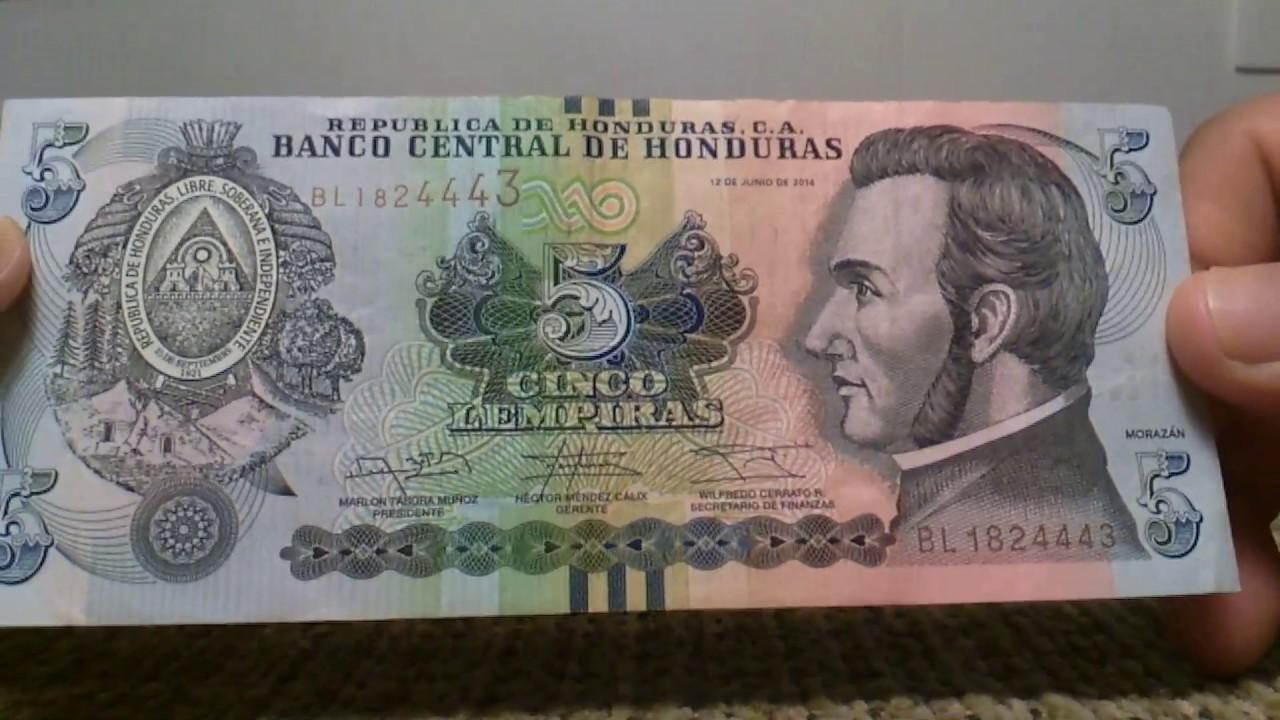 Grandiosos Billetes De Honduras Para Coleccion