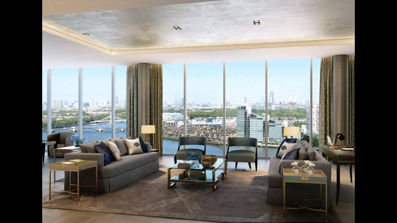 The tower penthouse chelsea creek london luxury prop - The penthouse apartment in kiev when nature meets modern ...