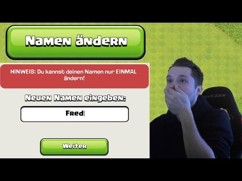 NAME ÄNDERN! || CLASH OF CLANS || Let's Play CoC [Deutsch/German HD+]