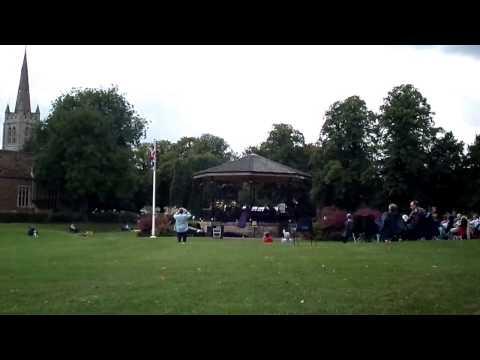 Youth Brass 2000 Performing Oakham Bandstand Cutts Close Oakham Rutland
