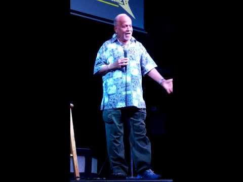 Gerry Bednob in Las Vegas