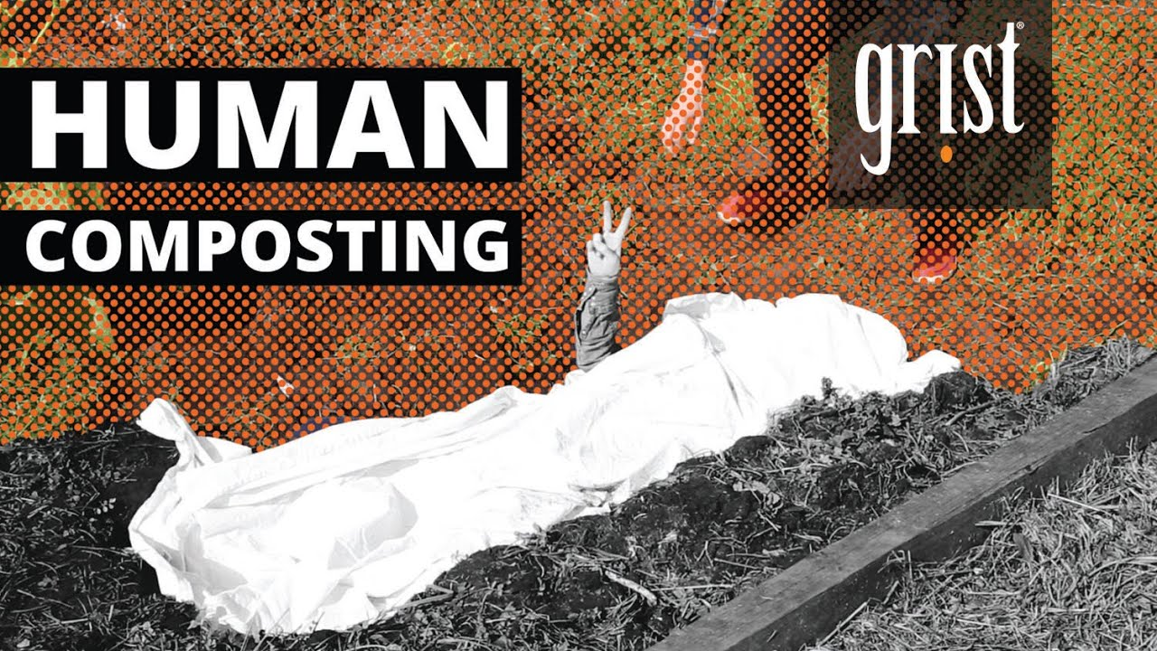Is human composting the future of death? - YouTube