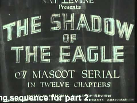 John Wayne In The Shadow of the Eagle Serial Film  Before Westerns