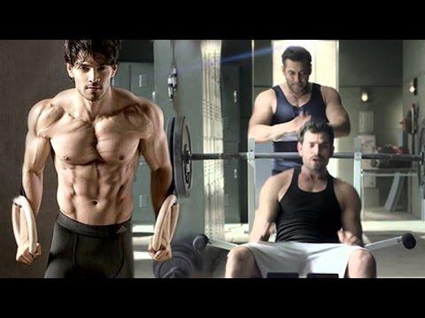 Sooraj Pancholi Hardcore Workout With Salman Khan In Gym