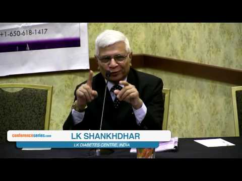 LK Shankhdhar | India | 9th Diabetologists   2016 | Conference Series LLC