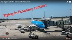 Trip Report: Barcelona to Amsterdam with KLM