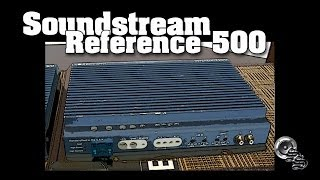 Soundstream Reference 500 Amp Dyno AD-1 FULL Test Wattage RMS