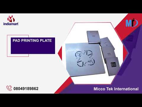 Pad Printing Pads and Plates Manufacturer