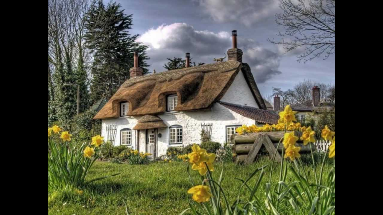 Superbes cottages youtube for Photos cottages anglais