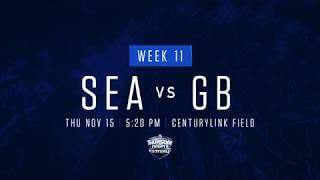 Week 11: Seahawks vs Packers Trailer