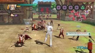 ONE PIECE: Pirate Warriors 3 | Garp moveset showcase 「ワンピース 海賊無双3」