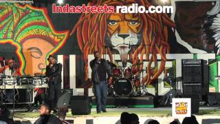 SOCIETY PARK Performing Live at Hood Stock Concert 9/29/12 (In Da Streets Radio)