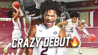 Sharife Cooper Did Not Disappoint In Auburn Debut | Full Highlights vs UA | 26 Pts, 9 Ast & 4 Reb👀❗️