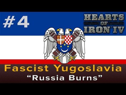 Hearts of Iron 4: Fascist Yugoslavia Episode 4 -