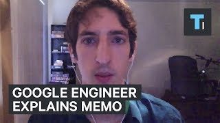 Fired Google engineer says his memo actually empowered women