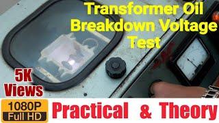 transformer oil breakdown voltage bdv test